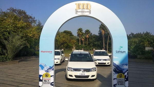 Mahindra EVs cross 1000 units mark in Lithium Urban Technologies fleet