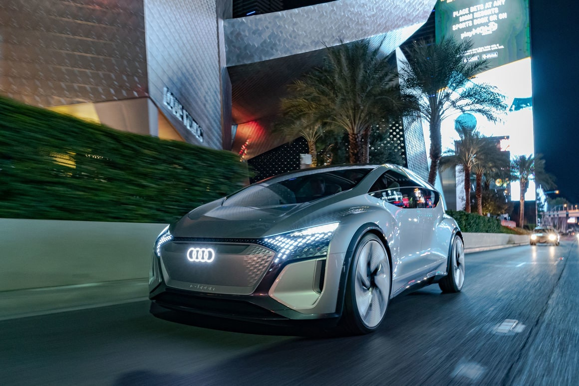 Audi showcased the car that can make mobility smart and individual and can be seen as a home away from home.