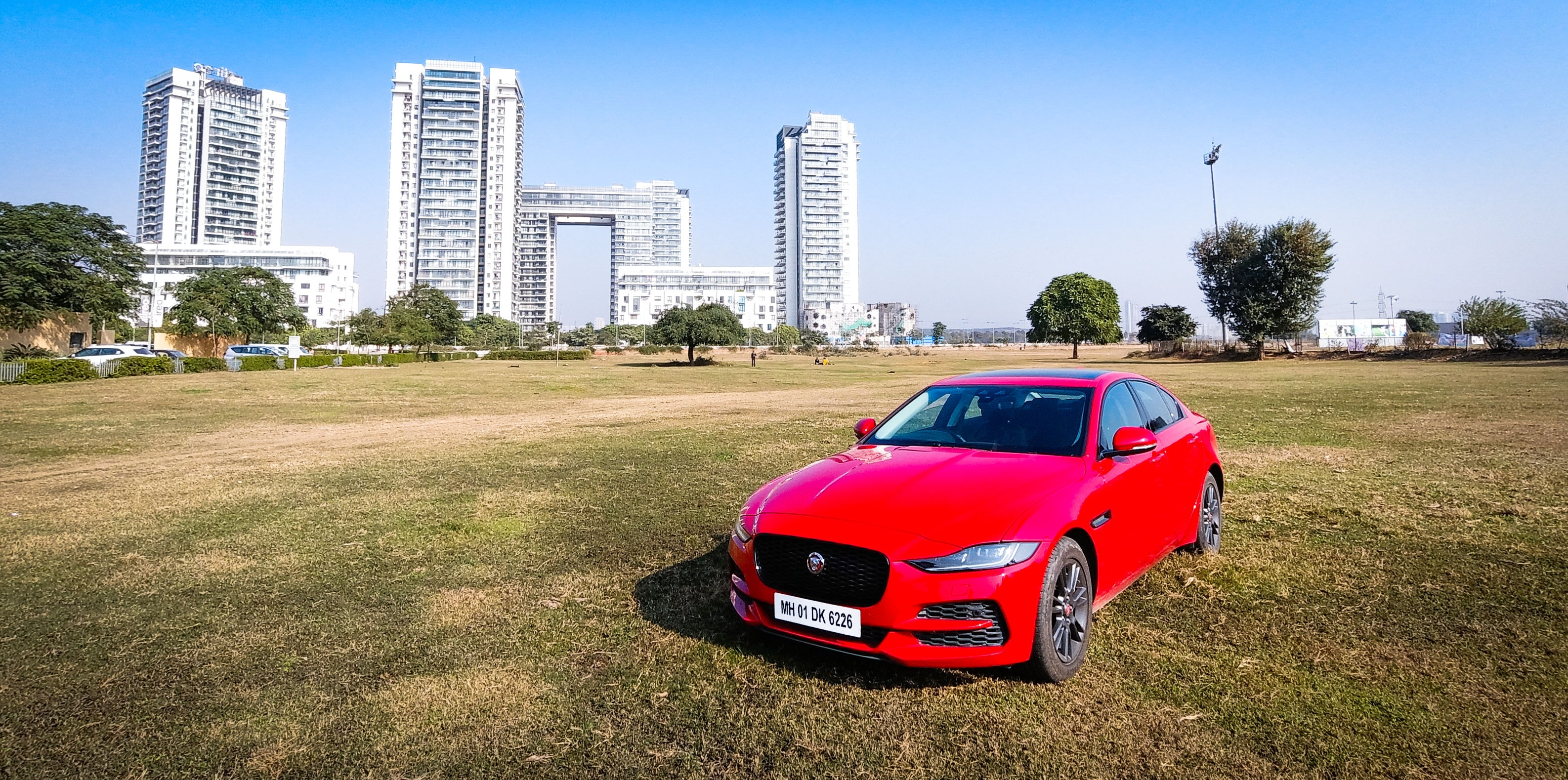 The XE 2020 now gets a reworked face with sleeker LED head lights, larger front grille and a more prominent bumper. (HT Auto photo)