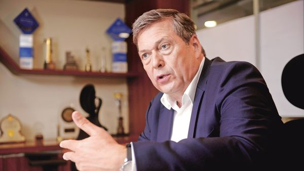 Tata Motors MD and CEO Guenter Butschek. In the quarter to December, Tata Motors reported domestic commercial sales of 85,109 units, down 22% year-on-year.mint