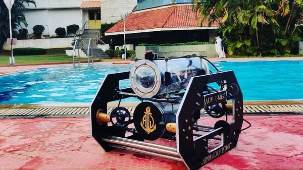 Black Pearl AUV from MEC.
