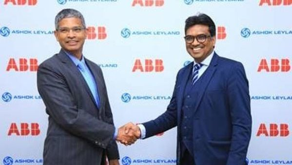 Ashok Leyland and ABB Power Products aim to develop a pilot electric bus based on ABB's innovative flash-charge technology, TOSA.
