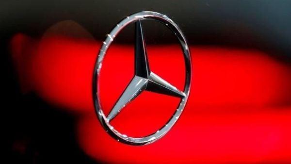File photo of Mercedes-Benz logo