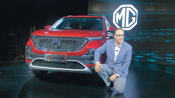 MG Motor India might ramp up monthly production to 4,000 units, said president and managing director Rajeev Chaba. mint