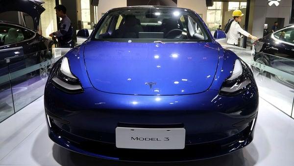 File photo: Tesla Model 3 electric vehicle. (REUTERS)