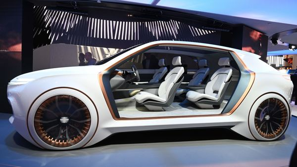 The Fiat Chrysler (FCA) Vision Airflow concept car used for representational purpose. (AFP)