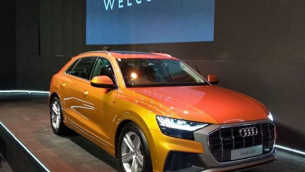 The Q8 gets a starting price of  <span class='webrupee'>₹</span>1.33 crore (ex showroom). It is the top-of-the-line product from Audi and challenges the uber luxury might of Mercedes-Benz, BMW and even Porsche.