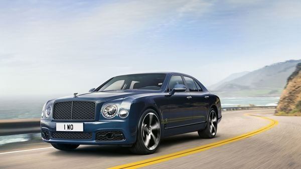 Photo of Bentley's iconic Mulsanne 6.75 Edition by Mulliner (Photo Courtesy: Bentley)