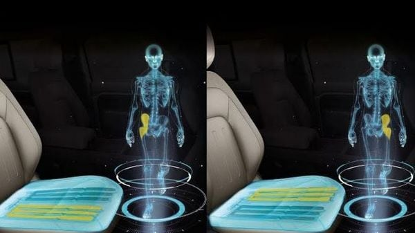 Jaguar's shape-shifting seats could make back pain after long journeys a thing of the past.