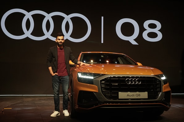 India cricket captain Virat Kohli unveiled the much-awaited Q8 SUV from Audi in India.