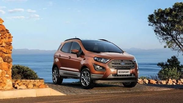 Ford EcoSport. (Photo courtesy: Ford India)