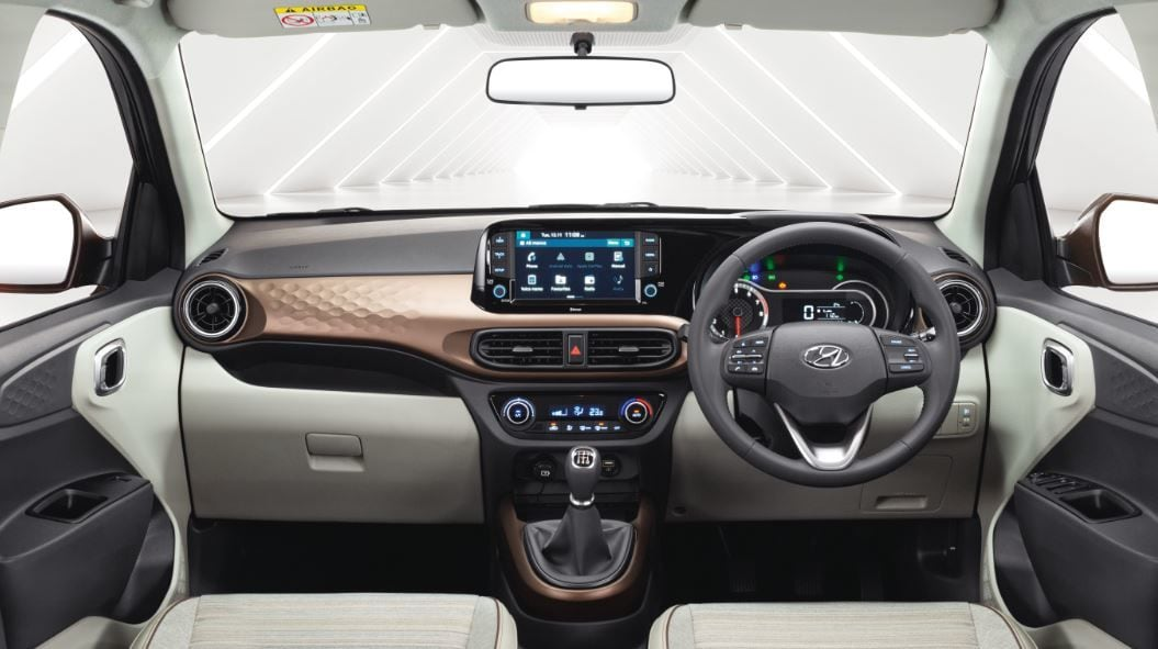 On the inside, the Aura appears quite plush and gets as many as 14 segment firsts.