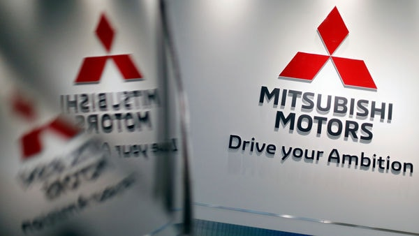 FILE PHOTO: The logo of Mitsubishi Motors Corp is displayed at the company's showroom in Tokyo, Japan January 18, 2019. REUTERS/Issei Kato