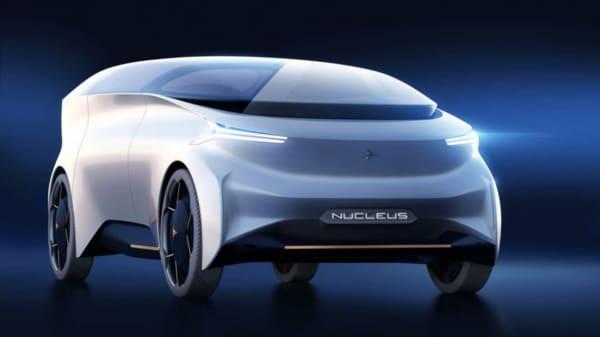 Photo of Icona Nucleus concept electric vehicle. (Photo courtesy: Icona Design)