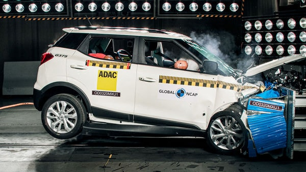 Mahindra XUV300 achieves the highest combined result in Global NCAP's #SaferCarsForIndia crash tests to date with the highest score in both the adult and child protection categories. (Photo courtesy: http://www.globalncap.org/)