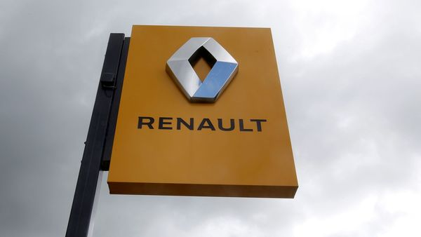 FILE PHOTO: The logo of French car manufacturer Renault at a dealership in Bordeaux, France. (REUTERS)