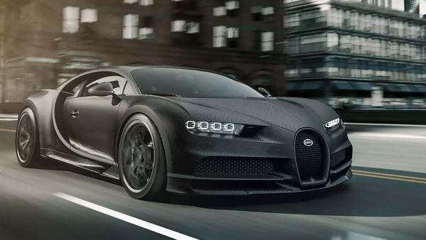 Bugatti Chiron Noire. (Photo courtesy: Bugatti)