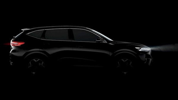 Great Wall Motor has teased the silhouette of one of its SUVs that will be showcased at Auto Expo 2020. (Photo courtesy: Twitter/@GwmIndia)