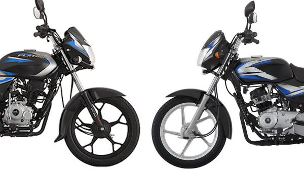 Photo of Bajaj CT 100 and Platina bikes. (Photo courtesy: Bajaj Auto)