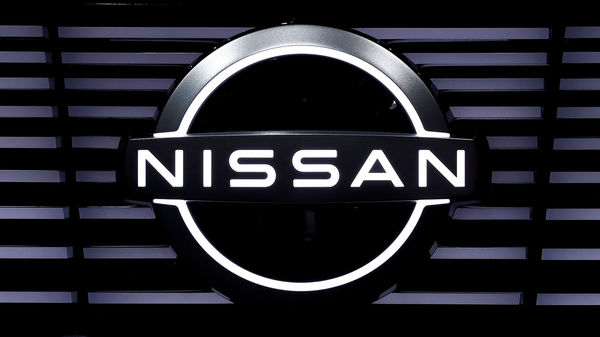 FILE PHOTO: A Nissan logo is pictured at the Tokyo Motor Show, in Tokyo, Japan October 24, 2019. REUTERS/Edgar Su/File Photo