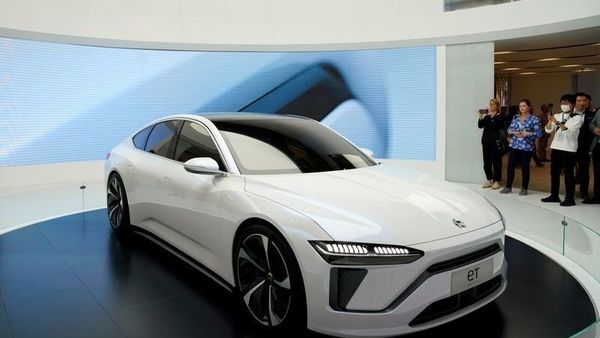 NIO's new electric vehicle (EV) ET7 shown here for representational purpose. (REUTERS)
