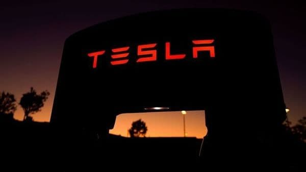 FILE PHOTO: A Tesla supercharger is shown at a charging station in Santa Clarita, California, U.S. (REUTERS)