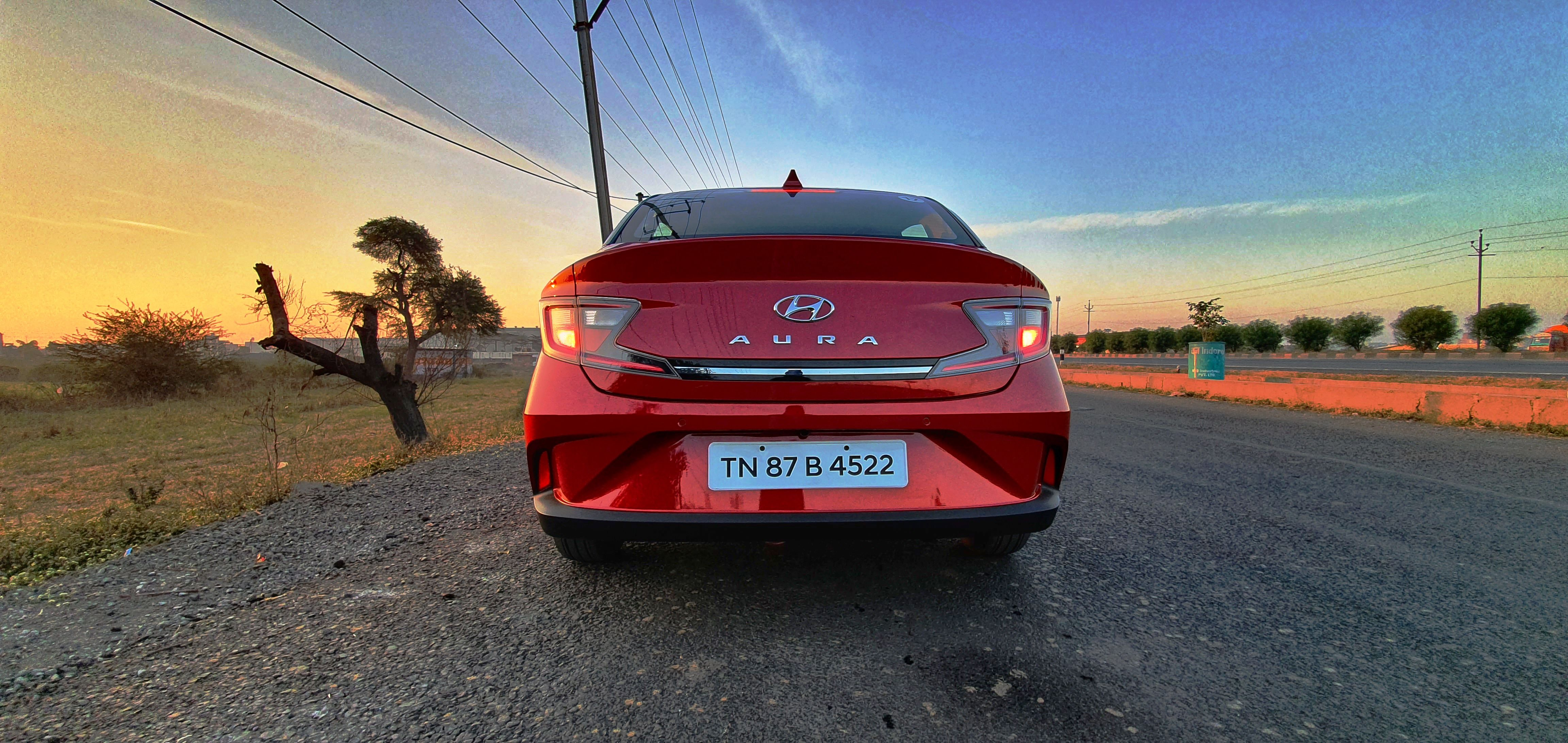 Over at the rear, the car features Z-shaped tail lights which has a chrome strip running between the two. (Sabyasachi Dasgupta/HT Auto Photo)