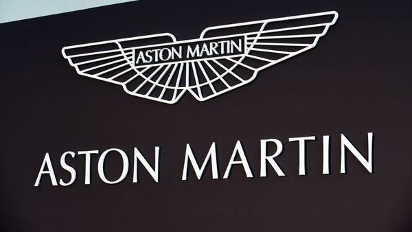 FILE PHOTO: An Aston Martin logo is pictured at the new factory in Saint Athan, Wales, Britain December 6, 2019. REUTERS/Rebecca Naden/File Photo (REUTERS)