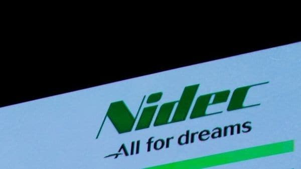 FILE PHOTO: Nidec Corp's logo is pictured at an earnings results news conference in Tokyo, Japan, July 25, 2018. REUTERS/Kim Kyung-Hoon/File Photo (REUTERS)