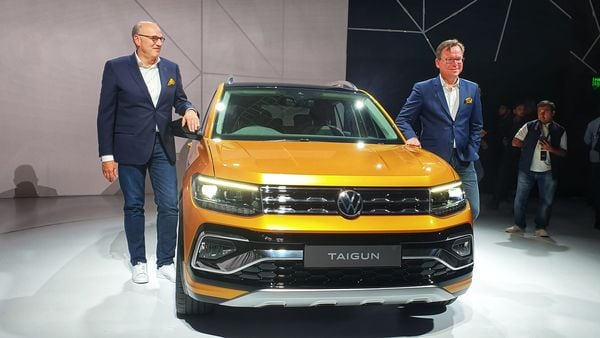 Volkswagen launched Taigun SUV for India at the first Skoda Volkswagen India Media Night event