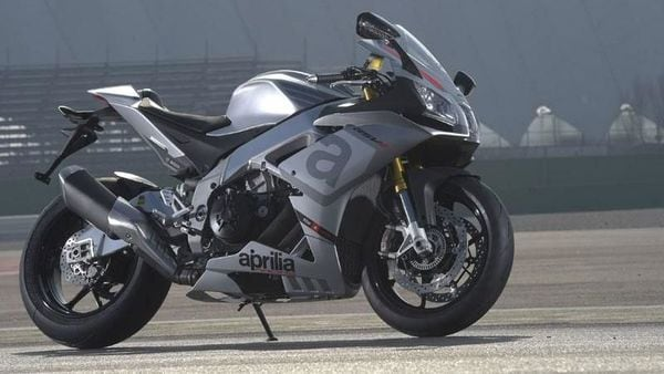 The Aprilia RSV4 RR. The company is expected to showcase an Indian version of its globally popular bike at the Auto Expo 2020. (File Photo)
