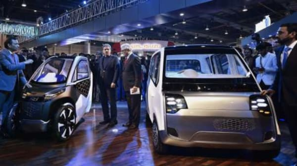 File photo from Auto Expo 2018 (PTI)
