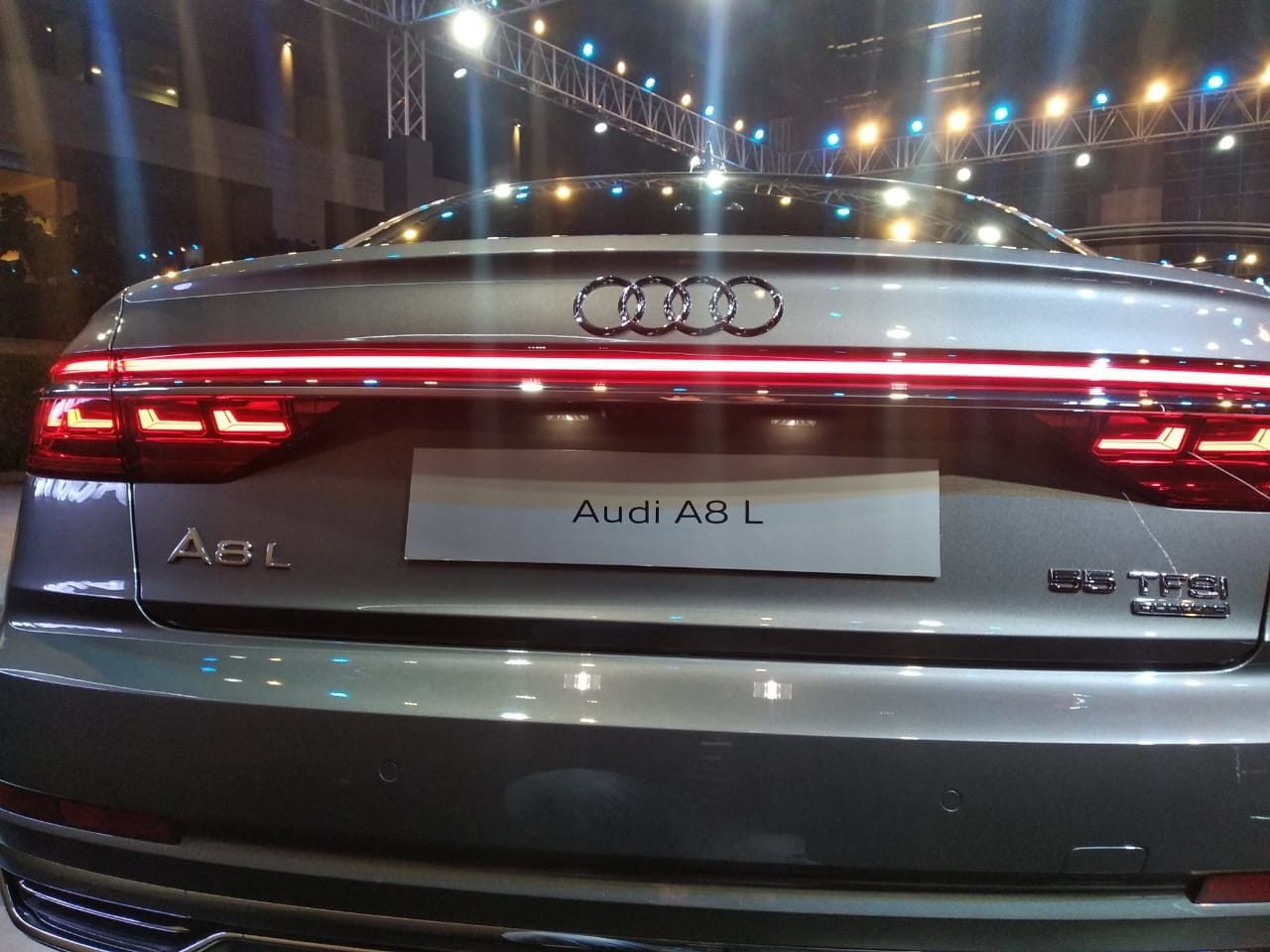 The sedan also comes with an air quality package that not only promises to clean the air inside the A8 L but also add climate-neutral fragrance.