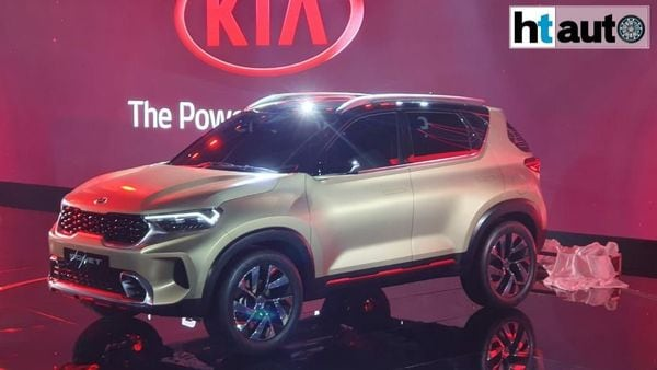 Kia Sonet launched at the Auto Expo 2020.