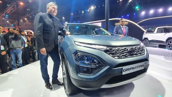 The Gravitas launched by Tata Motors at Auto Expo 2020.