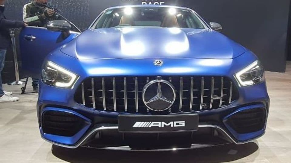Auto Expo 2020 Mercedes Unveils World S Fastest Amg In India At 2 42 Crore