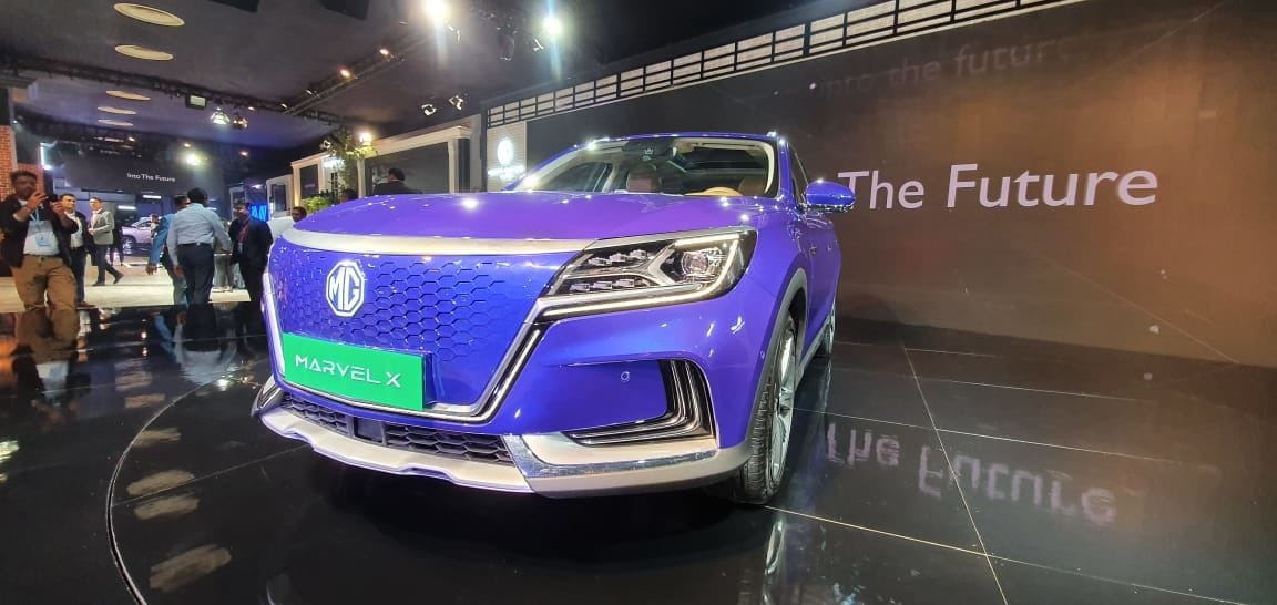It is the production version of MG's Vision E. It comes with a massively chrome grill and has an impressive road presence.