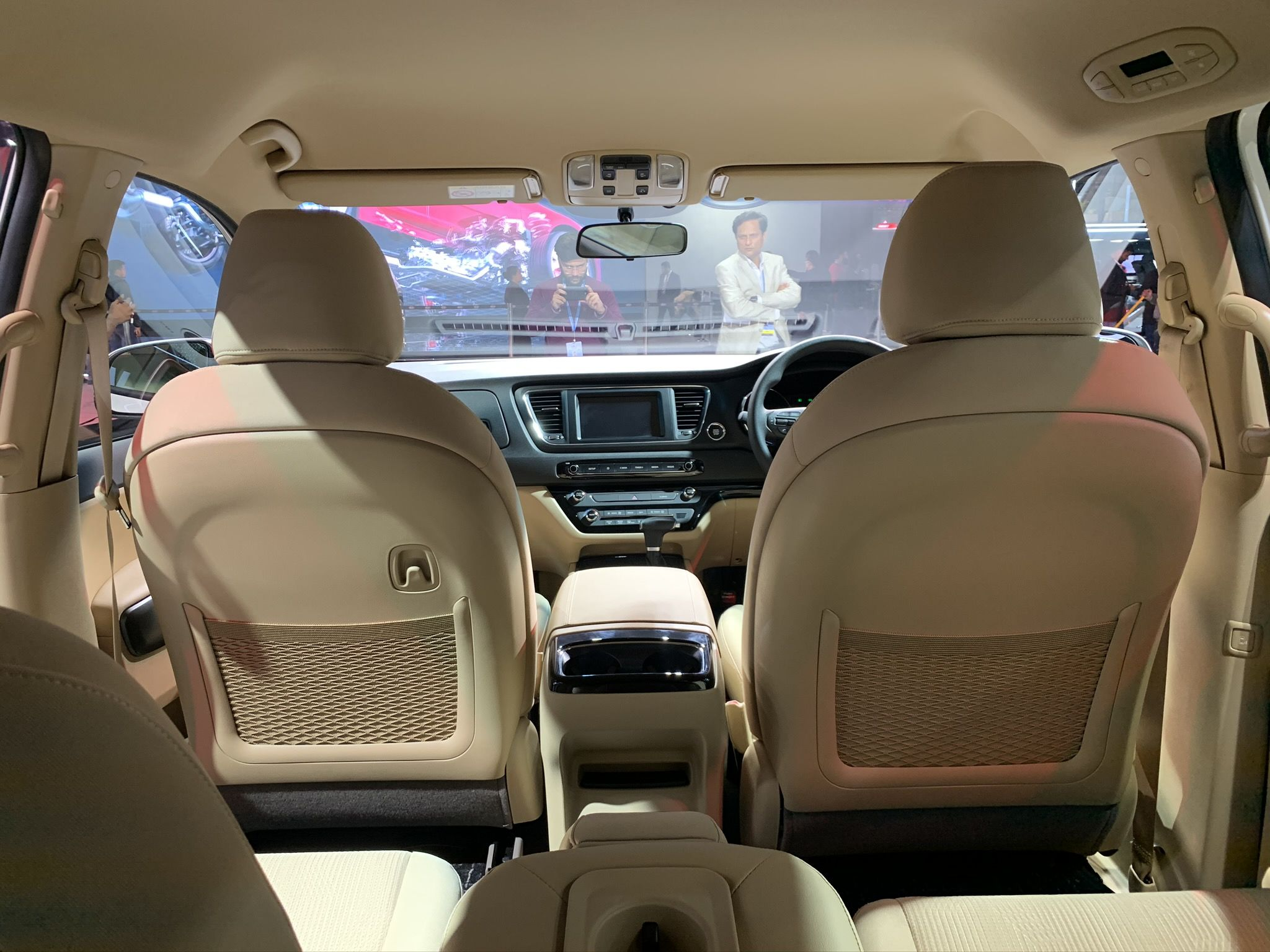 The car starts at a price of <span class='webrupee'>₹</span>24.95 lakh for a seven-seater variant (ex-showroom), called the Premium segment. It remains to be seen whether this price goes in favour of the South Korean carmaker, considering its rival - the Innova - starts at a much lower price of around <span class='webrupee'>₹</span>15 lakh (ex-showroom).