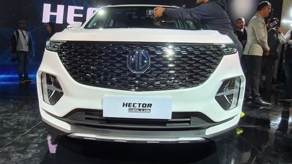 Hector Plus SUV from MG Motor.