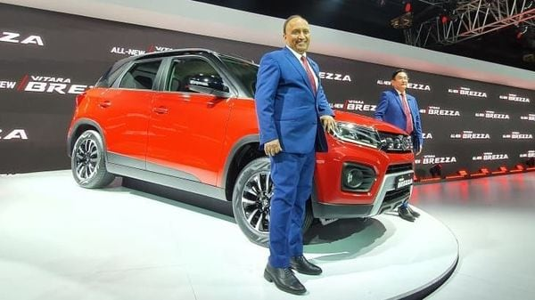 Maruti Suzuki showcased the all-new Vitara Brezza in a petrol avatar, four years after it was first unveiled in India.