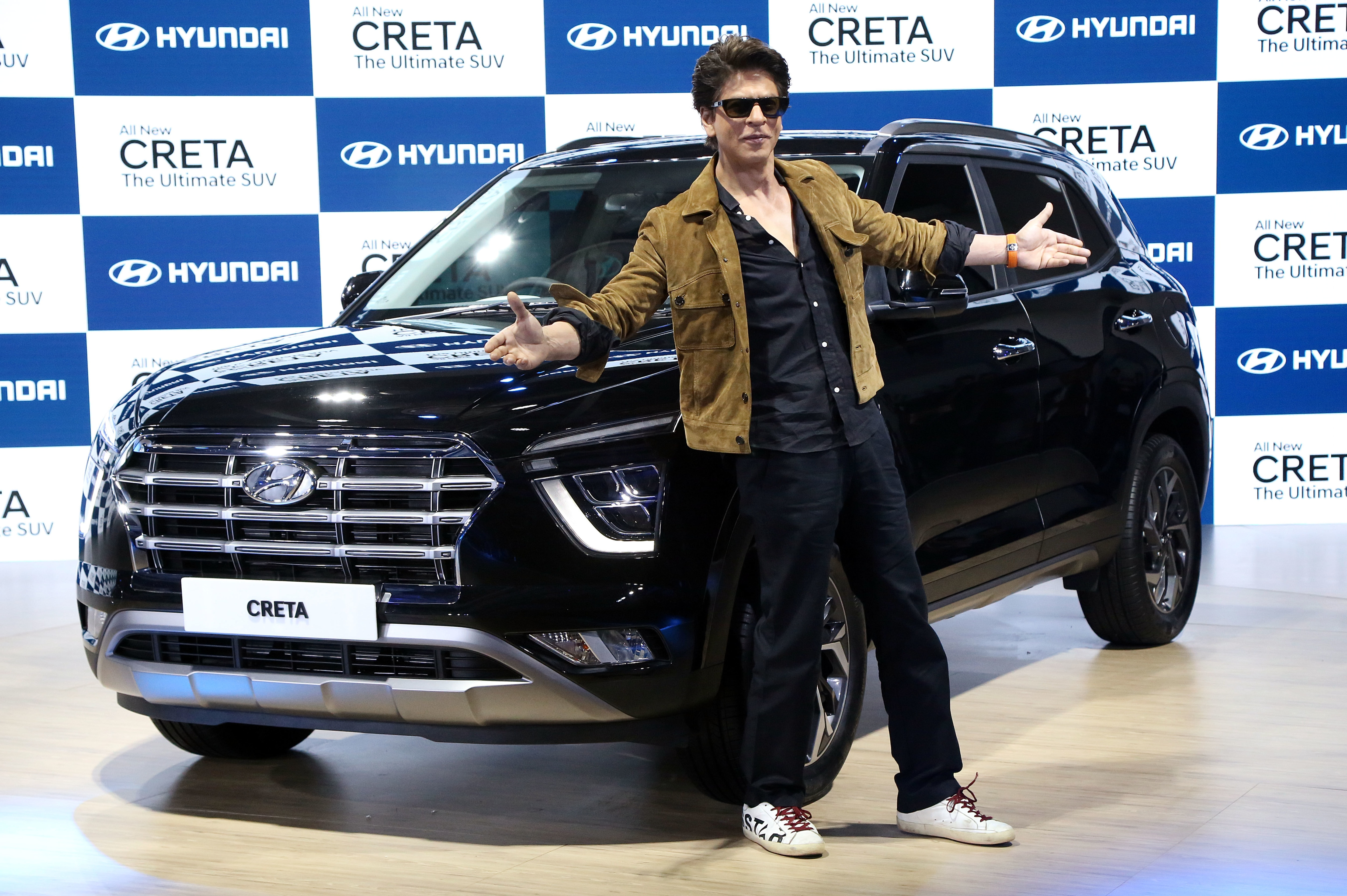 Shah Rukh Khan heaped praise on the second-generation Creta's styling and features inside the cabin.