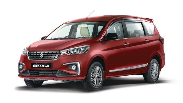 Ertiga MPV from Maruti Suzuki.