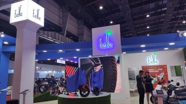 Photo of EeVe stall at the Auto Expo 2020 (Photo courtesy: Twitter/@eeveindia)