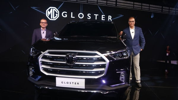 MG Motor is readying Gloster SUV for a launch in the festive period.