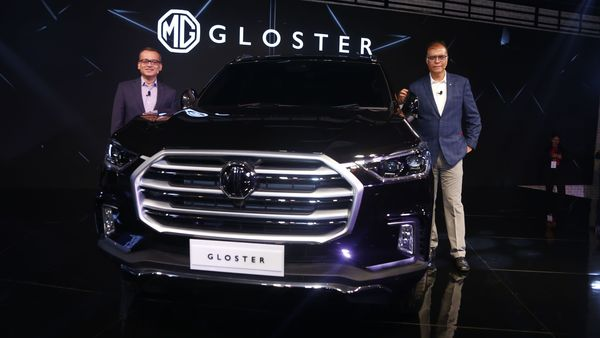 The India-bound Gloster SUV from MG Motors at Auto Expo 2020.