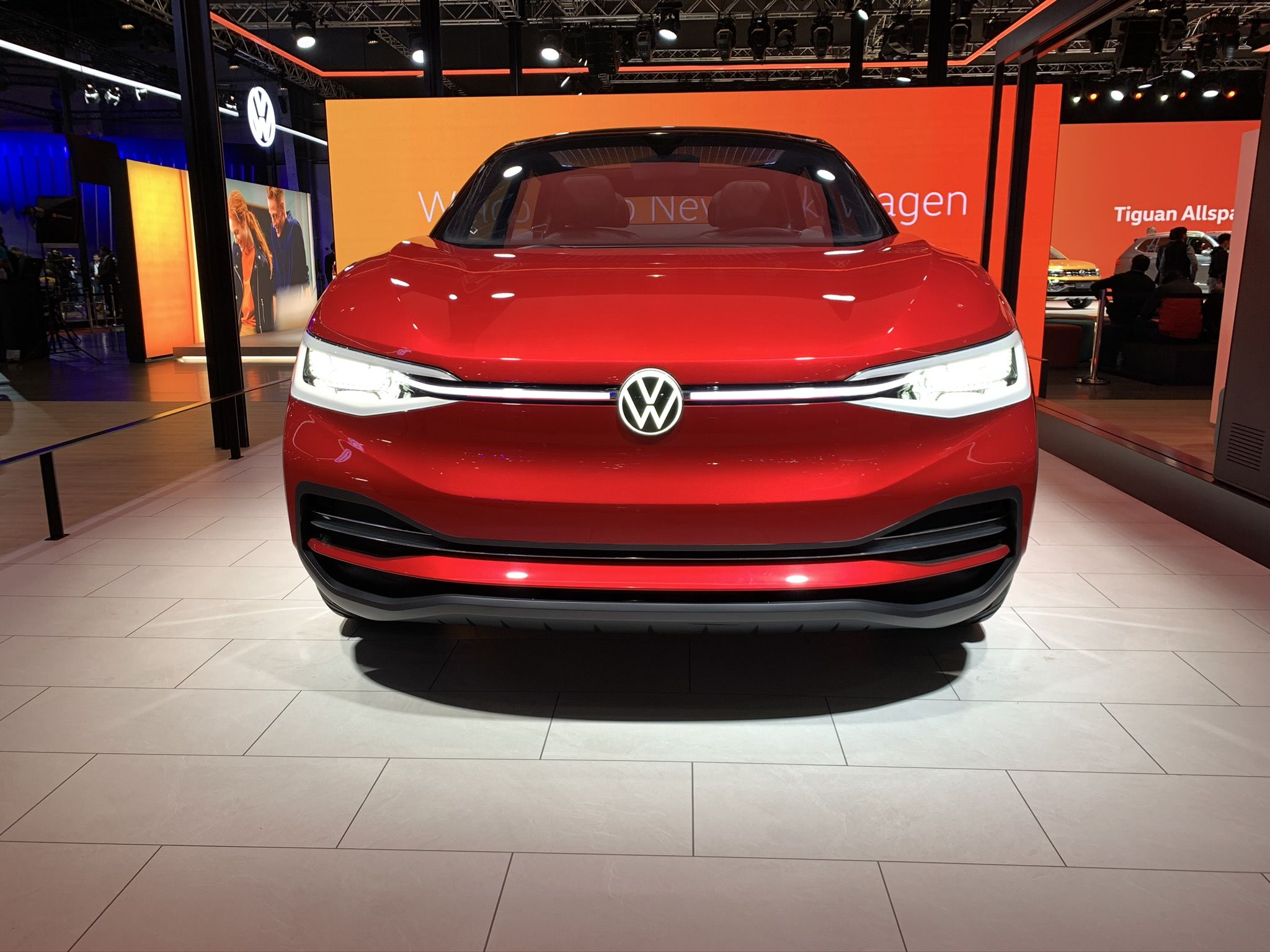 Volkswagen ID.CROZZ: The ID.CROZZ is a cross of four door coupe and SUV with an electric drivetrain delivering power of 225kw with a top speed of 180km/hr. It is based on the company's modular electric drive matrix (MEB) platform.
