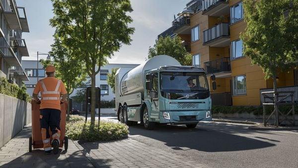 Volvo's FE electric garbage truck. (Photo courtesy: Volvo AB)