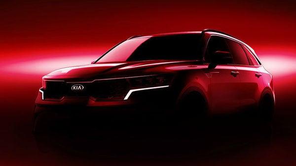 Kia Motor reveals sketch of compact SUV Sorento