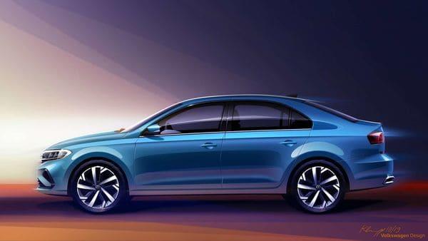 Sketch of the Russia-bound Volkswagen Vento
