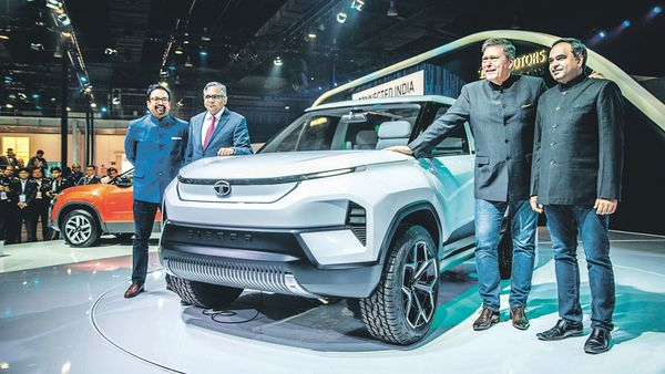Tata Motors unveiled the new Tata Sierra at the Auto Expo 2020